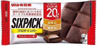 SIXPACKプロテインバー UHA味覚糖
