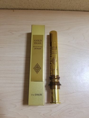 Gold Snail Wrinkle Plumper/the SAEM/その他スキンケアを使ったクチコミ(1枚目)