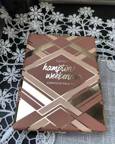 ハンプトンズウィークエンダーコントゥアパレット/tarte/メイクアップキットを使ったクチコミ(1枚目)