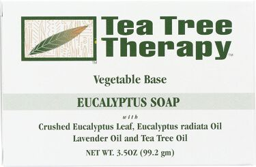 Vegetable Soap Eucalyptus Tea Tree Therapy