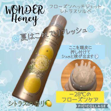 ワンダーハニー フローズンヘッドジェット シトラスソルベ/VECUA Honey/頭皮ケアを使ったクチコミ(1枚目)
