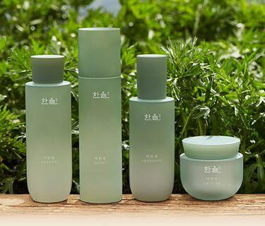 ヨモギ水分鎮静トナー(化粧水)/HANYUL(ハンユル)/化粧水を使ったクチコミ(1枚目)