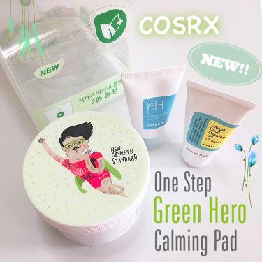 🌸보미/ぼみさんの「COSRXワンステップ グリーン ヒーローカーミングパッド<その他スキンケア>」を含むクチコミ