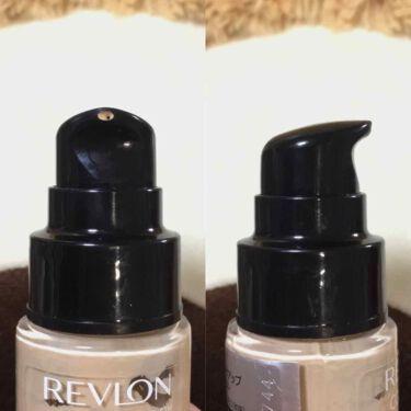 カラーステイ メイクアップ/REVLON/リキッドファンデーションを使ったクチコミ(3枚目)