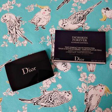 ディオールスキン フォーエヴァー エクストレム コンパクト/Dior/パウダーファンデーション by ぴよた╰( •ө• )╯