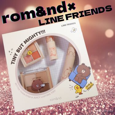 LINE FRIENDS EDITION/rom&nd/メイクアップキットを使ったクチコミ(1枚目)