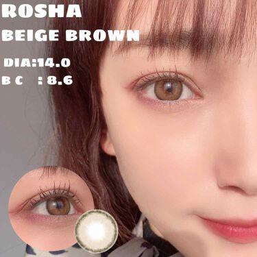 ROSHA/蜜のレンズ/その他を使ったクチコミ(1枚目)