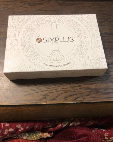 SIXPLUS ピンクのメイクブラシ11本セット/SIXPLUS/メイクブラシを使ったクチコミ(1枚目)