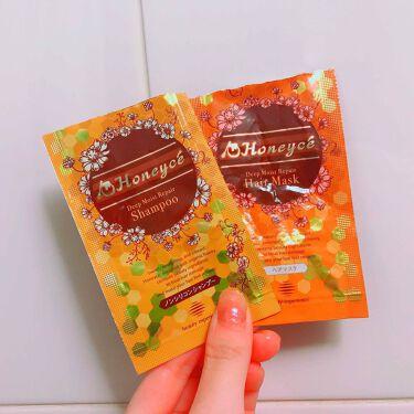 m i k uさんの「Honeyce'(ハニーチェ)モイスチャーリペア 1dayお試し<トライアルキット>」を含むクチコミ