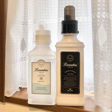 柔軟剤 クラシックフローラル/ランドリン/香り付き柔軟剤・洗濯洗剤を使ったクチコミ(2枚目)