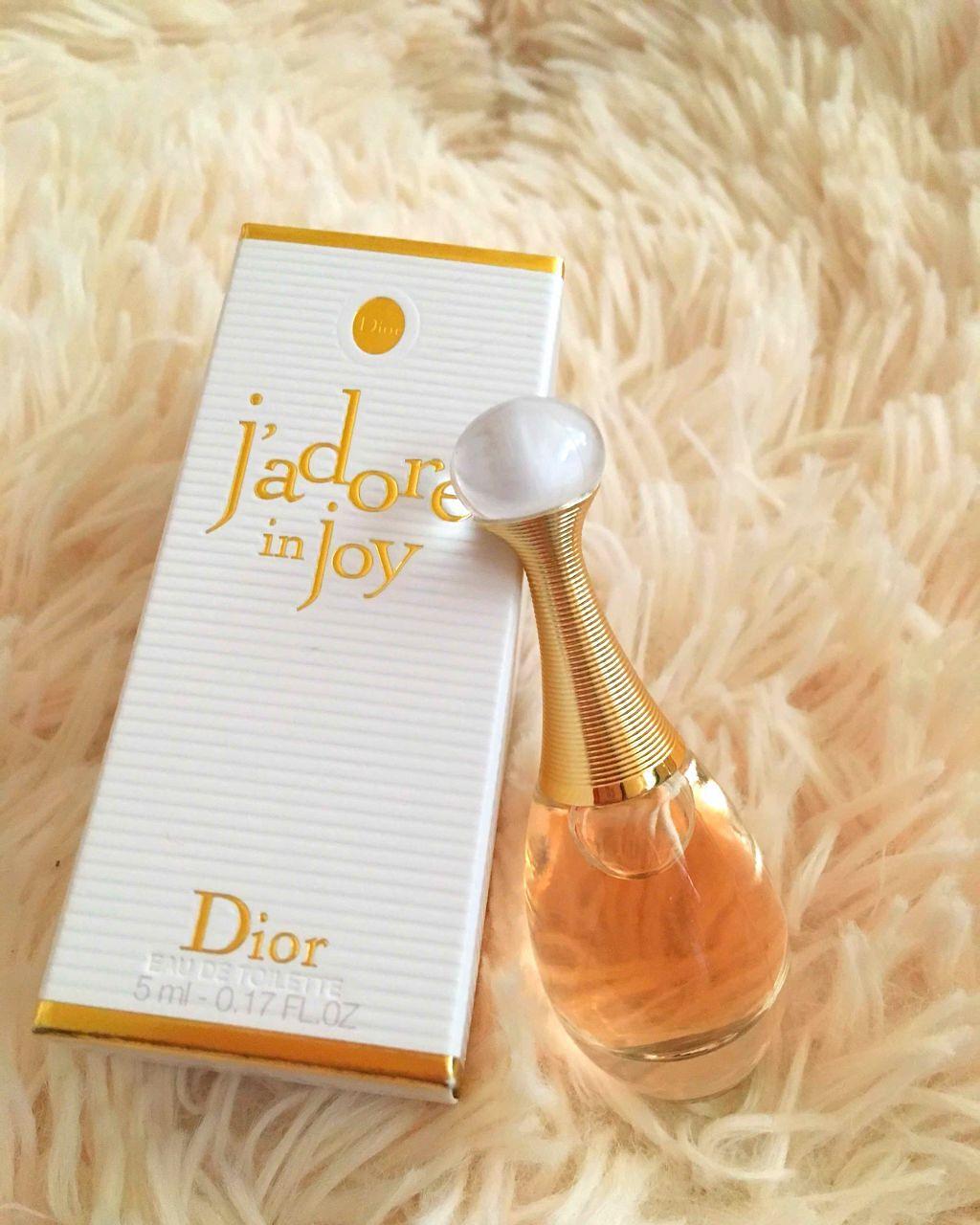 ジャドール イン ジョイ/ディオール/香水(レディース)を使ったクチコミ(1枚目)