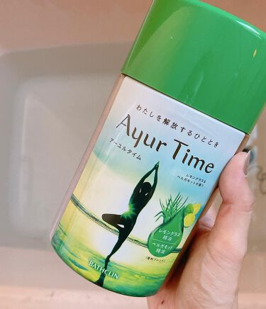 Ayur Time(アーユルタイム)/アーユルタイム/入浴剤を使ったクチコミ(2枚目)