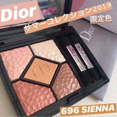 サンク クルール<ワイルド アース>/Dior/パウダーアイシャドウを使ったクチコミ(1枚目)