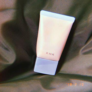 時田さんの「RMKクリーミィ ポリッシュト ベース N 00/01/02<化粧下地>」を含むクチコミ