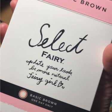 セレクトフェアリー (Select FAIRY)/シンシア/カラーコンタクトレンズを使ったクチコミ(4枚目)