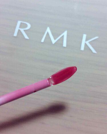 リップジェリーグロス/RMK/リップグロスを使ったクチコミ(2枚目)