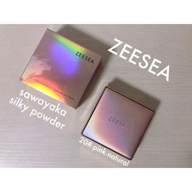 ZEESEA メタバースピンクシリーズ  シャイニングギャラクシー リキッドファンデーション/ZEESEA/リキッドファンデーションを使ったクチコミ(5枚目)