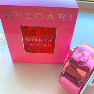 オムニア ピンク サファイヤ オードトワレ/BVLGARI/香水(レディース)を使ったクチコミ(1枚目)