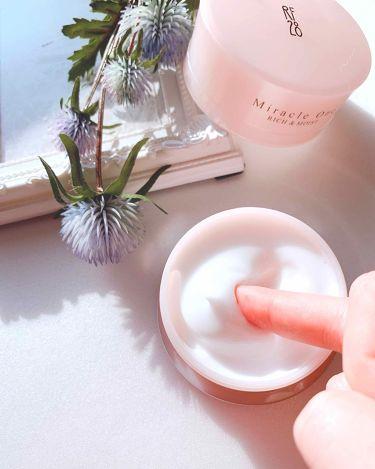 ミラクルワン リッチ&モイスト/RF28/オールインワン化粧品を使ったクチコミ(3枚目)