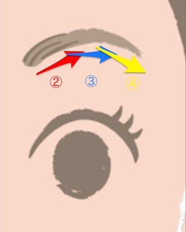 ビューティートリックアイブロー/インテグレート/アイブロウペンシルを使ったクチコミ(4枚目)