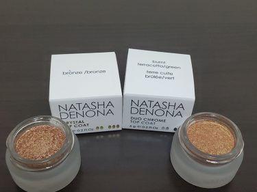 Natasha Denona  Duo Chrome Top Coat/Natasha Denona/ジェル・クリームアイシャドウを使ったクチコミ(1枚目)