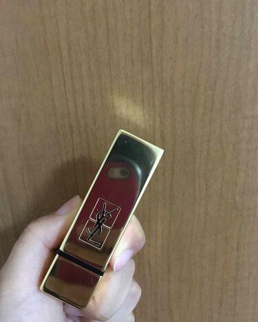 ルージュ ピュールクチュール/イヴ・サンローラン・ボーテ/口紅を使ったクチコミ(1枚目)