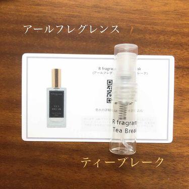 Tea Break/アールフレグランス/香水(その他)を使ったクチコミ(1枚目)