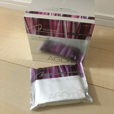 エイジーセオリー AGドリンク 4th/AXXZIA/美肌サプリメントを使ったクチコミ(1枚目)