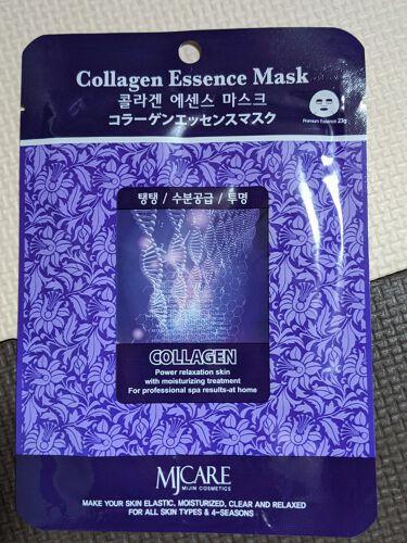 コラーゲンエッセンスマスク/MJ-Care/シートマスク・パックを使ったクチコミ(1枚目)