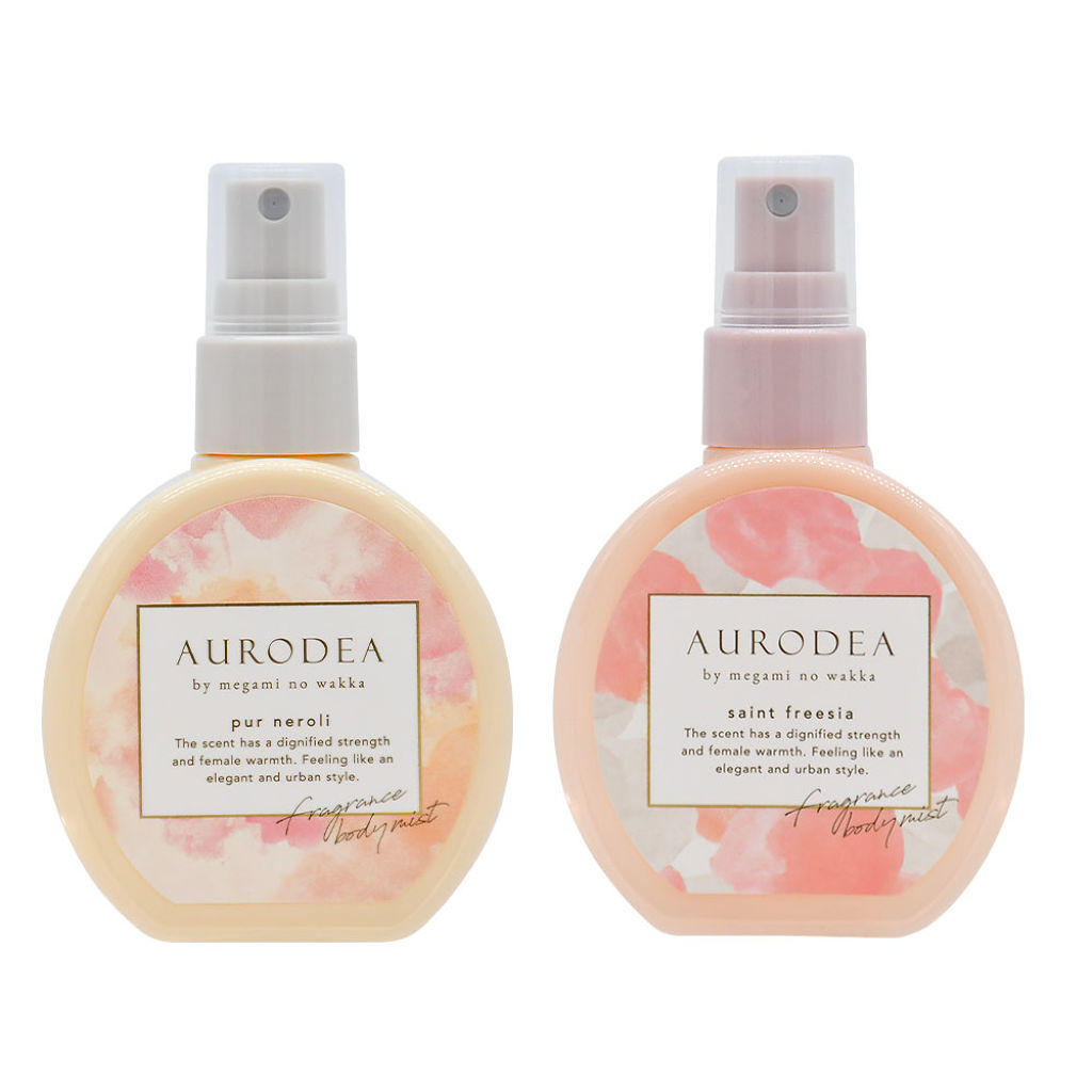 AURODEA by megami no wakka fragrance body mist RBP