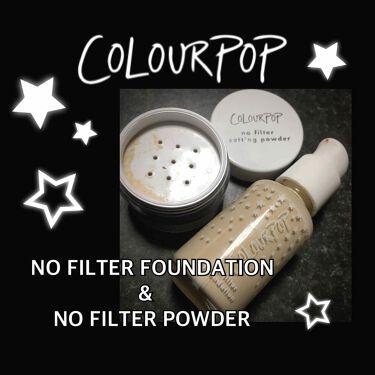 めるさんの「ColourPop(カラーポップ)no filter foundation<リキッドファンデーション>」を含むクチコミ