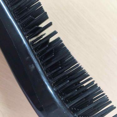 絡みにくい!髪通りなめらか長短2段ヘアブラシ/キャンドゥ/ヘアケアグッズを使ったクチコミ(3枚目)