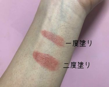 ラスティンググロスリップ/CEZANNE/口紅を使ったクチコミ(3枚目)