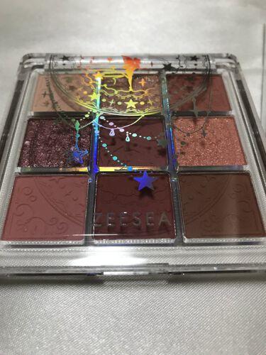 ZEESEA クォーツ 9色アイシャドウパレット/ZEESEA/パウダーアイシャドウを使ったクチコミ(2枚目)