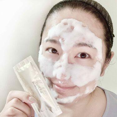 CCスパークリングジェルパック/CHARLENE/MICHIKO KOSHINO/洗い流すパック・マスクを使ったクチコミ(4枚目)