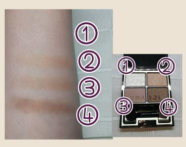 スキンモデリングアイズ/LUNASOL/パウダーアイシャドウを使ったクチコミ(2枚目)