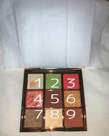 9COLOR EYE SHADOW BOX /HOJO/パウダーアイシャドウを使ったクチコミ(3枚目)