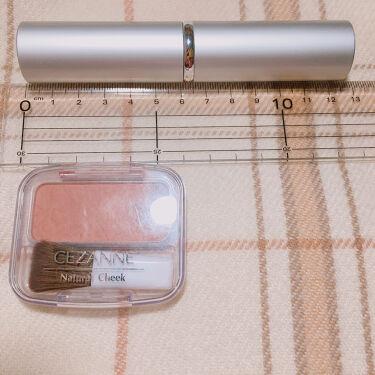 ごくふわっ春姫スライド式携帯メイクブラシ/DAISO/メイクブラシを使ったクチコミ(5枚目)