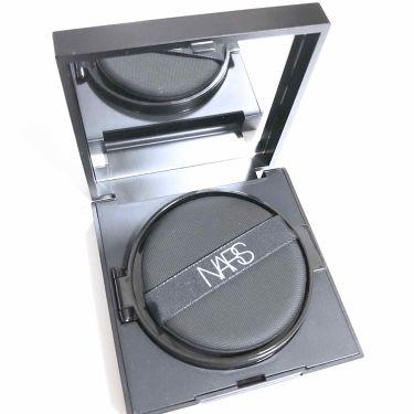 ナチュラルラディアント ロングウェア クッションファンデーション/NARS/クッションファンデーションを使ったクチコミ(2枚目)