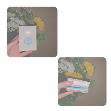 ダイソー あぶらとり紙 彩/DAISO/あぶらとり紙を使ったクチコミ(2枚目)
