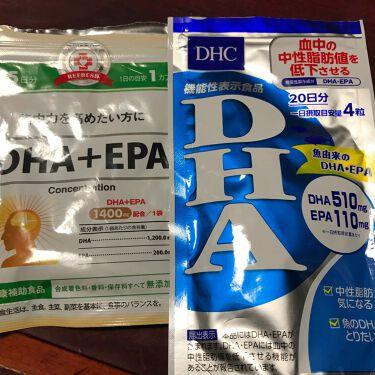 DHA/DHC/健康サプリメントを使ったクチコミ(1枚目)