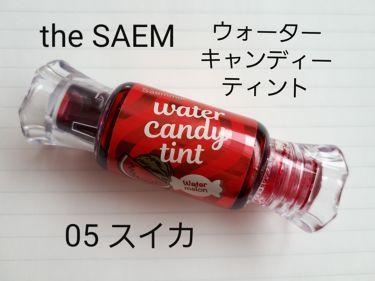 ウォーター キャンディー ティント/the SAEM/リップグロスを使ったクチコミ(2枚目)