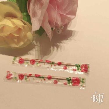 花柄個包装つまようじ/DAISO/その他オーラルケアを使ったクチコミ(2枚目)