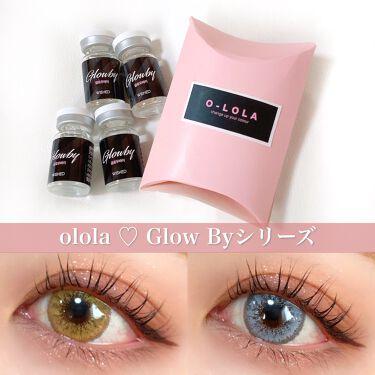 グローバイ(Glow by)/OLOLA/カラーコンタクトレンズを使ったクチコミ(1枚目)