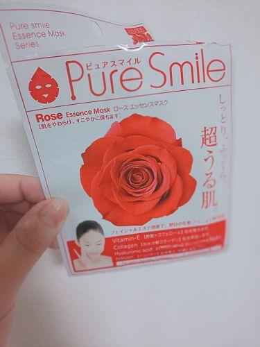 ローズエッセンスマスク/Pure Smile/シートマスク・パックを使ったクチコミ(1枚目)