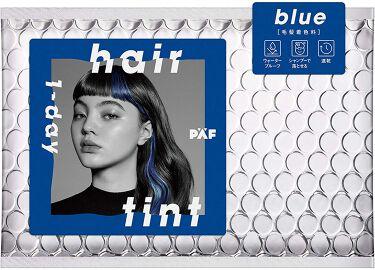 1-day hair tint ブルー