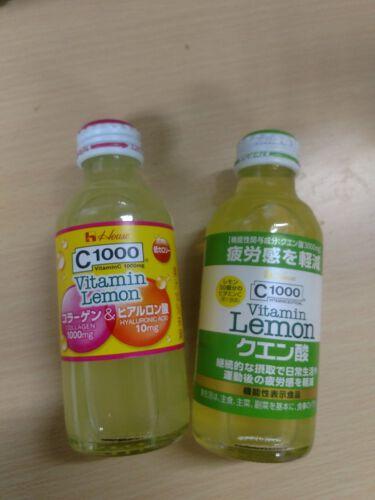 C1000 ビタミンレモン コラーゲン&ヒアルロン酸/ハウスウェルネスフーズ/ドリンクを使ったクチコミ(1枚目)