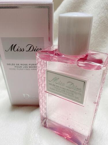 【画像付きクチコミ】#正直レビュー#Dior#ミスディオールハンドジェルミスディオールのほのかな香りでリフレッシュするハンドジェル外出先で手肌をリフレッシュし、優しいローズの香りで包み込むミスデイオールハンドジェル。センティフォリアローズウォーター(*)...