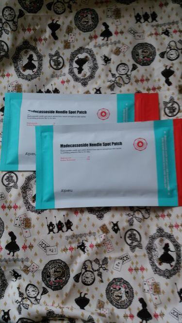 Madecassoside Needle Spot Patch/A'PIEU/その他スキンケアを使ったクチコミ(1枚目)