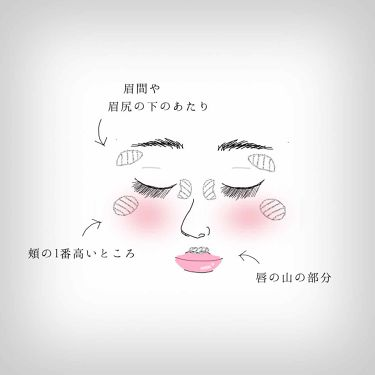 ルミナイザー/kiss/ジェル・クリームチークを使ったクチコミ(2枚目)